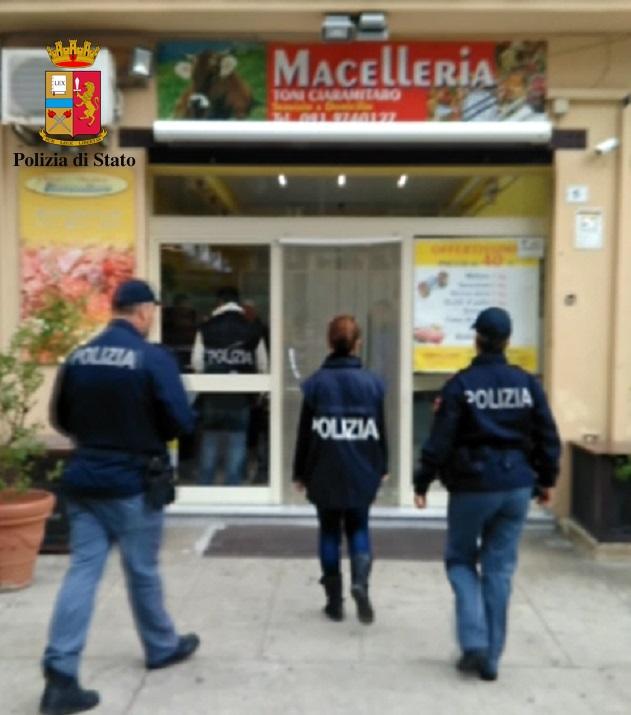 Mafia, sigilli alla macelleria del boss a Palermo