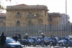 Una immagine dell'esterno del carcere dell'Ucciardone a Palermo. LANNINO & NACCARI/DC