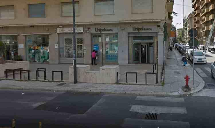 Rapina alla Unipol di via Marchese di Villabianca, arrestato un pregiudicato