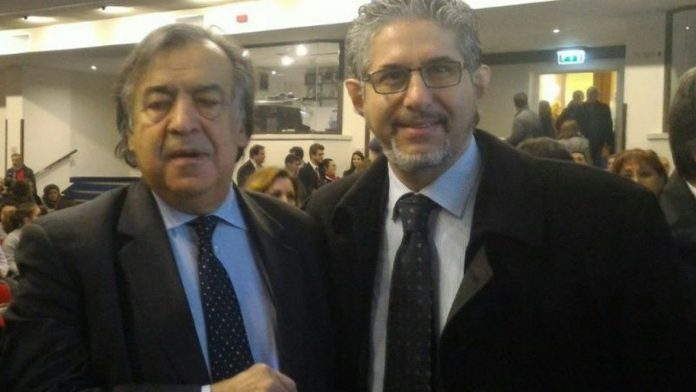 leoluca Orlando e Sandro Terrani