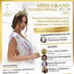 Finale Regionale Marche per il Concorso di Bellezza Internazionale Miss Grand International Italy